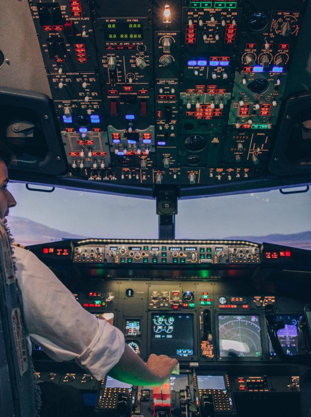 Prenez les commandes d'un avion