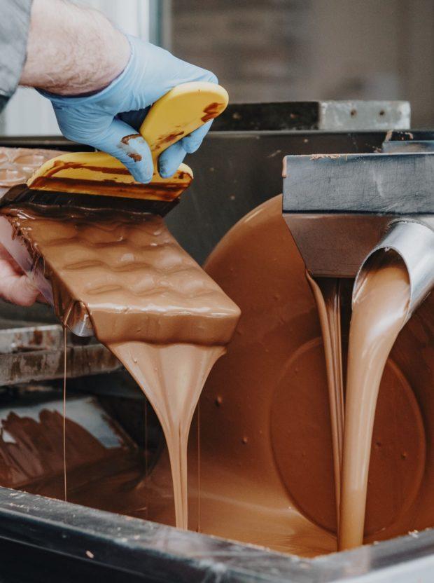 Workshop chocolade maken bij Chocolaterie Vanlieff's