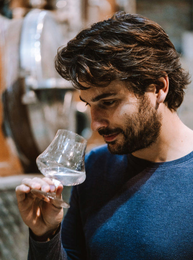 Tasting at the Distillerie de Biercée