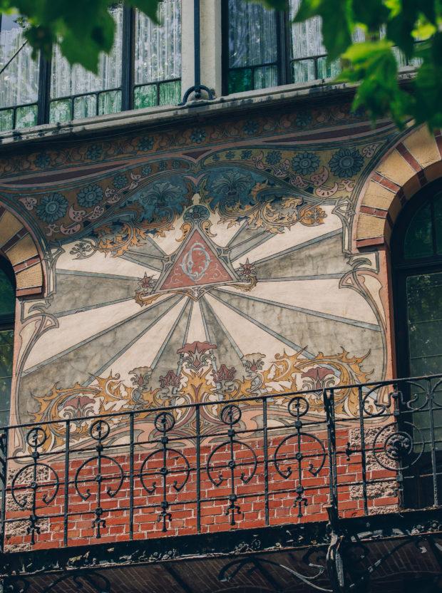 Tour Art nouveau / Art déco