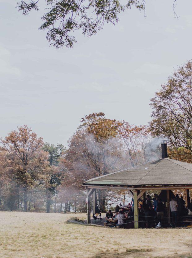Barbecue au bord du lac de la Plate Taille