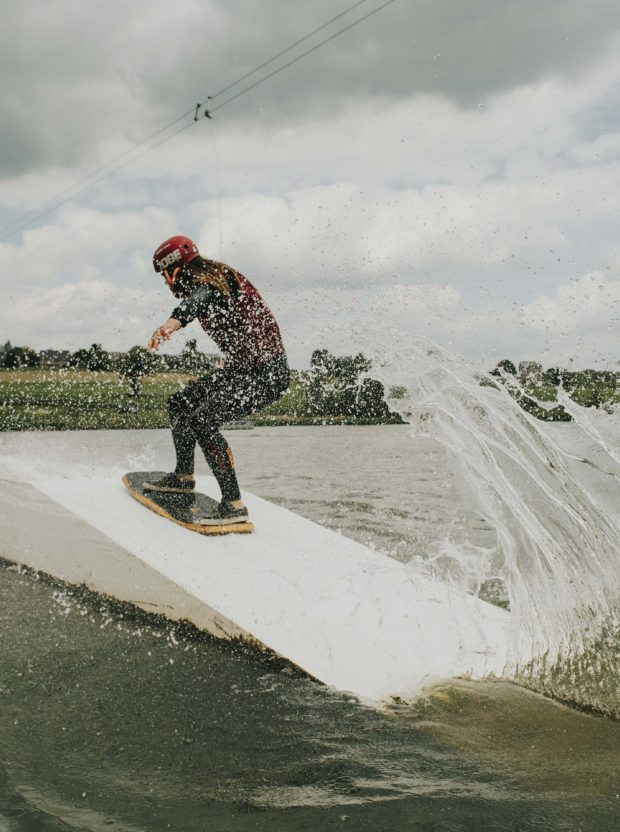 The Spin Cablepark : initiation au wakeboard