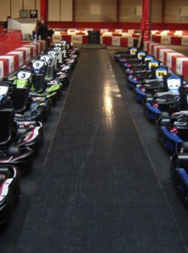 Getting up to speed kart racing