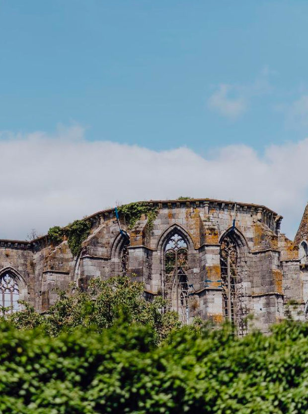 Visit to Aulne Abbey