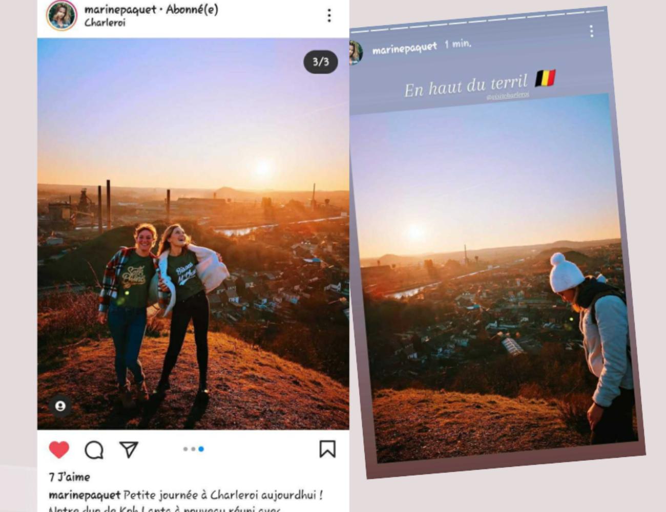 Beige Polaroid Scrapbook Mothers Day Video Facebook Post